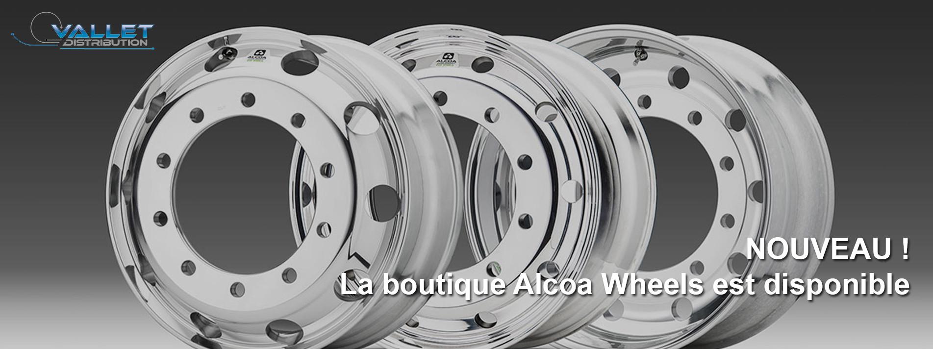 Découvrez la boutique Alcoa Wheels